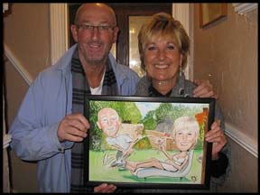 personalised cartoon gift