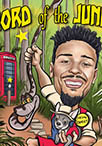 jordan banjo caricature jungle