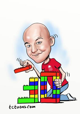 digital_caricature_lego_30th_birthday