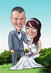digital_caricature_wedding_cartoon